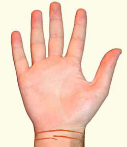 Что означают браслеты на запястье, хиромантия